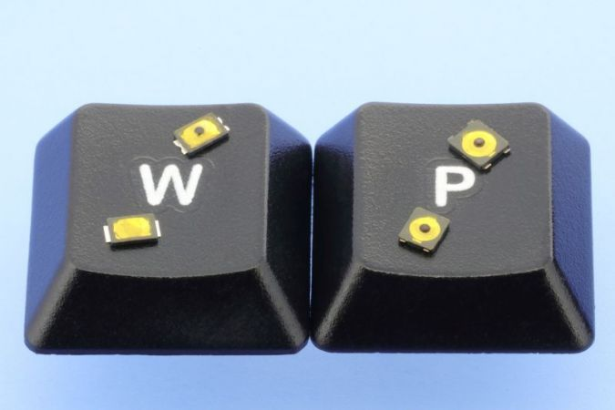 SMT miniature tactile switch from W+P: extremely small!